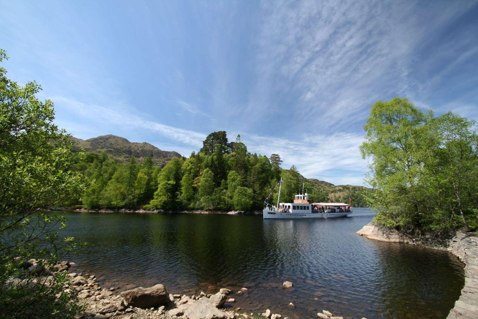 Loch Katrine steamship cruises