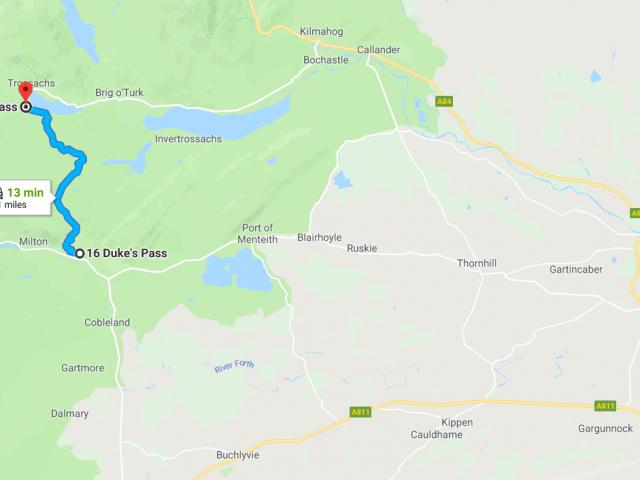 Duke's-pass-map