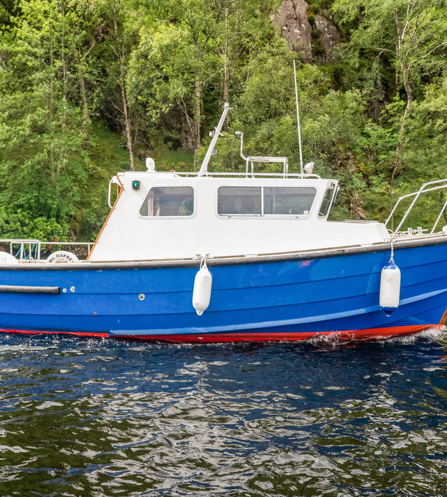 Osprey boat on Loch Katrine